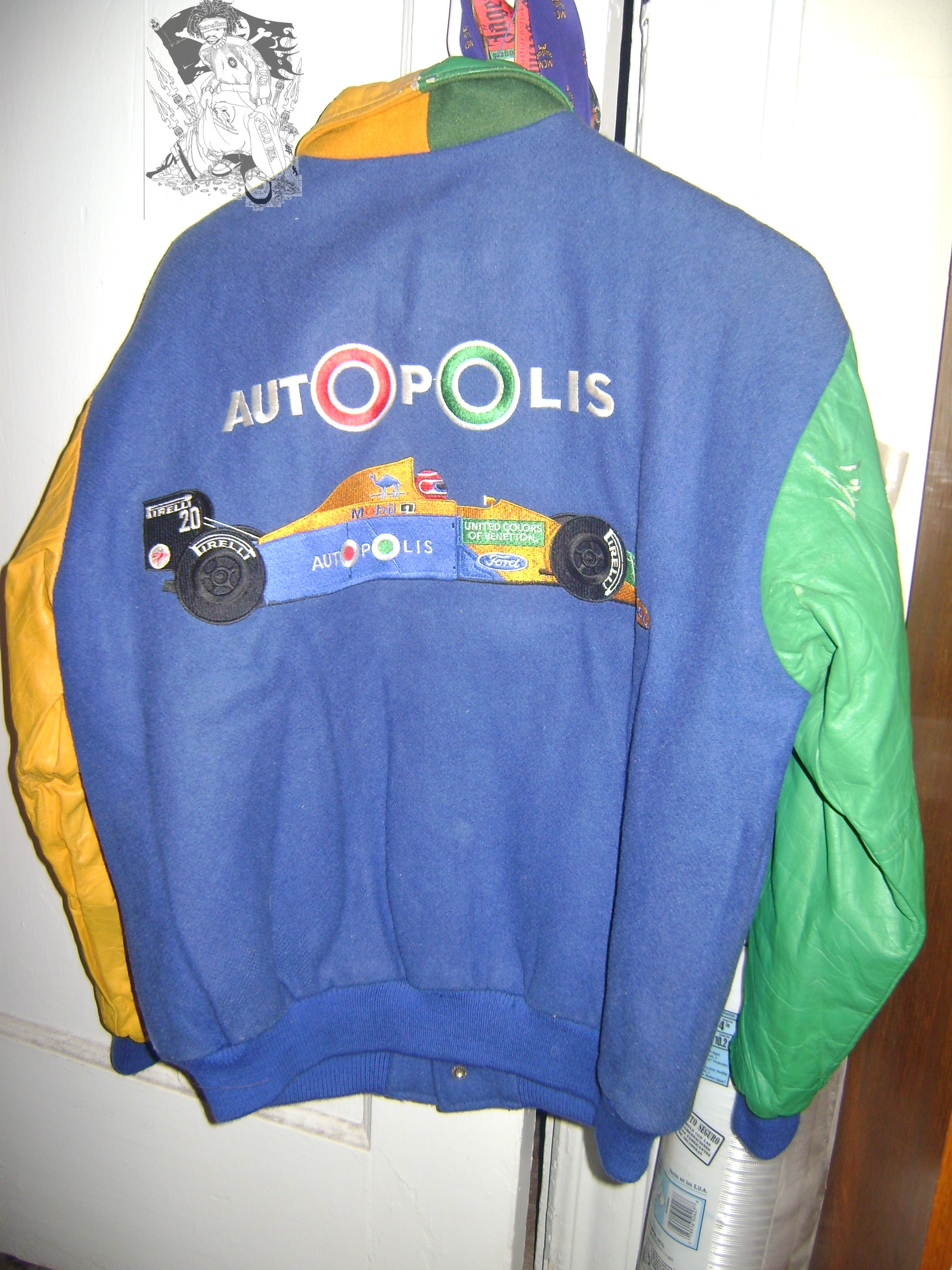 Vintage racing jacket from